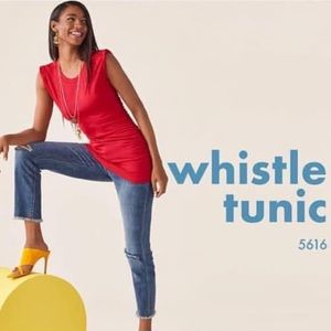 Cabi Whistle Tunic, XL